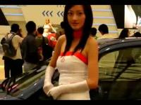 上海车展美女极品美女热舞车模