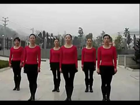 《月亮之上》踏歌广场舞