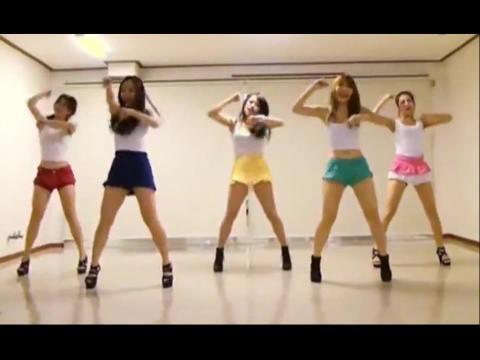 简单易学的韩国女团舞蹈