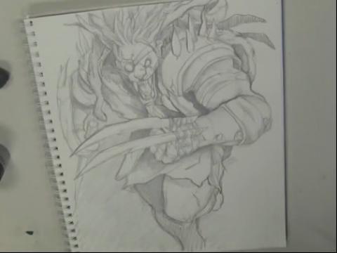 傲之追猎者-雷恩加尔 手绘视频