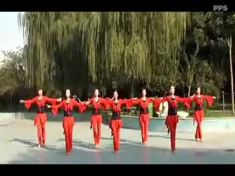 广场舞回娘家背面_最炫民族风广场舞回娘家广场舞背面分解本溪