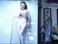 韩国美女车模李智友加经典dj舞曲