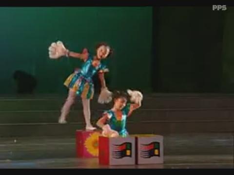 少儿舞蹈视频大全之《万能的手》湖北荆州市银河之星