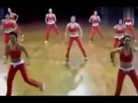 健身舞 美女健美操盘教学视频