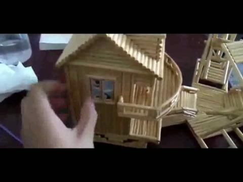 手工制作大全-完美的手工小房子制作