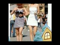 【街拍美女】性感 街拍少妇腿美屁股翘