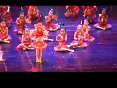 儿童舞蹈 最炫民族风