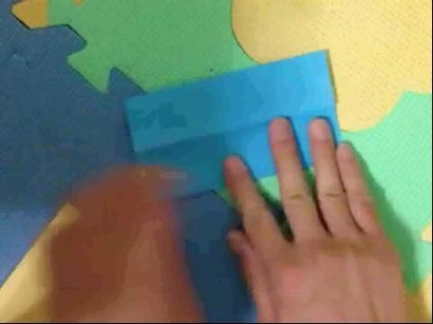 儿童折纸大全※ 纸船的折法