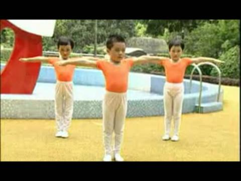 幼儿广播体操 小班 拍手操