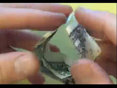 手工制作大全 折纸立体钱币陀螺