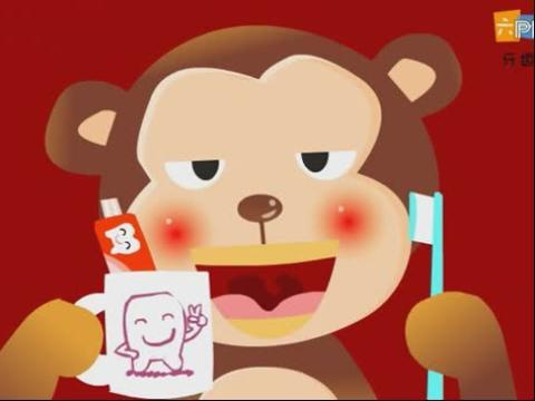 儿童歌曲 牙齿刷刷刷 动画儿歌大全