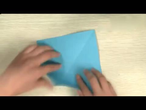 鲨鱼的折法 手工制作