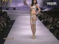 性感美女 女模特透明内衣秀
