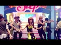 韩国性感美女组合kara最新热力舞?