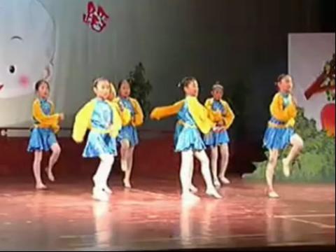儿童舞蹈-青苹果乐园 舞蹈教学视频