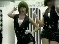韩国美女5人组性感椅子舞