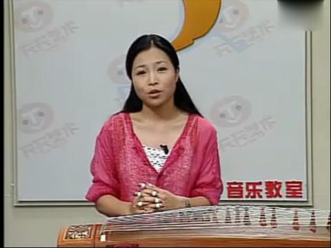 古筝基础教学视频 ― 美女袁莎教你弹古筝第一课