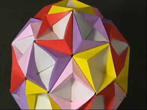 手工制作大全 折纸 折纸大全纸球折法