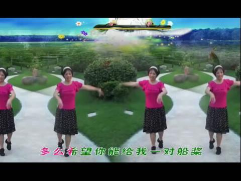 四胞胎广场舞醉月亮-醉月亮舞蹈20130908