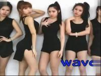 韩国美女舞团waveya 鸟叔psy绅士