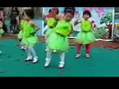 少儿舞蹈现代舞《踏浪》儿童舞蹈视频