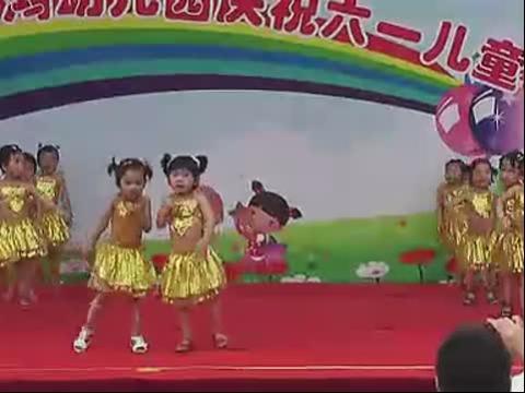 幼儿园小班舞蹈三只小熊