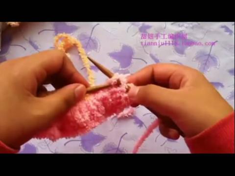 【甜妞手工编织屋】编织视频教程兔子马甲的织法上集
