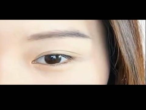 华裔美女彩妆化妆视频教程5