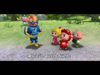 猪猪侠小英雄简笔画