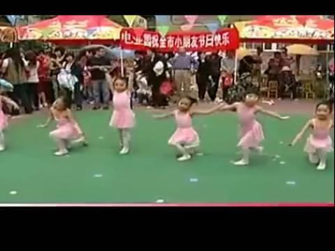 少儿舞蹈 虫儿飞 舞蹈教学视频