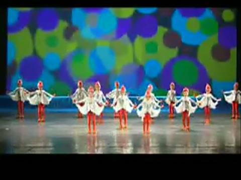 少儿舞蹈教学视频现代舞最简单易学好看