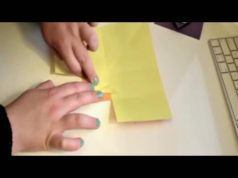 兔子信封折法教程视频