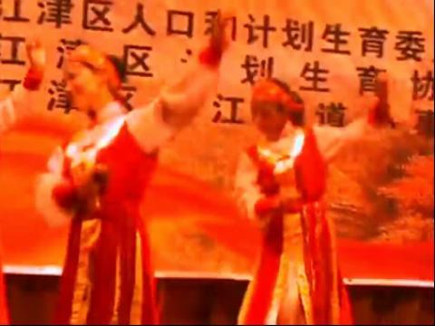广场舞蒙古舞 雕花的马鞍