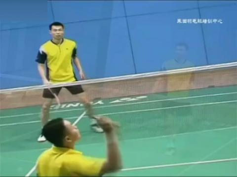羽毛球教学视频-接杀球