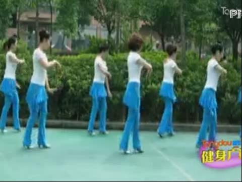 周思萍广场舞 雕花的马鞍(新版)