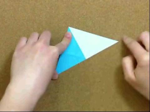 折纸大全◆花朵书角书签 折法教程视频