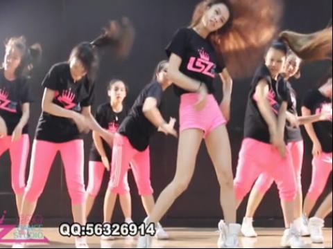 最新简单好学舞蹈教学视频学生舞蹈展示 爵士舞入门教