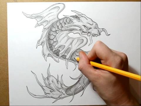 大写字母g纹身 学画画图片