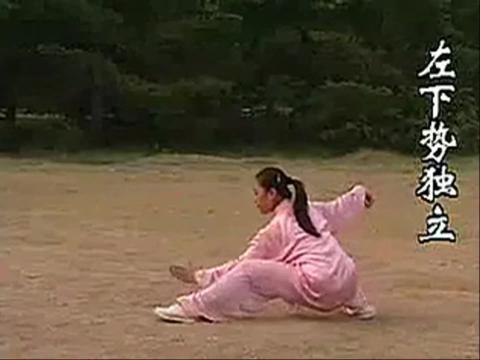 简化二十四式太极拳教学视频04
