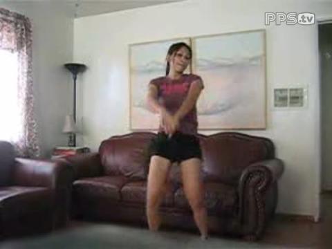 可爱美女跳舞(家里的mm3)