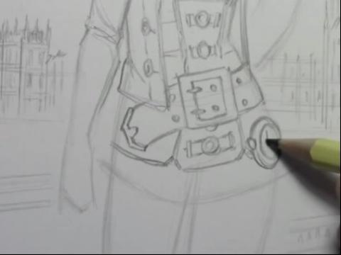 动漫人物画法素描简笔画设计大全16教你画漫画