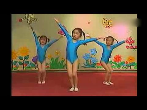 儿童舞蹈教学视频-[种太阳分解动作]