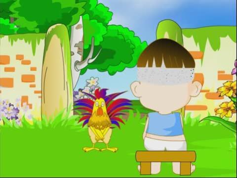 儿童故事大全_儿童故事在线听之大公鸡和漏嘴巴