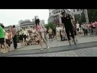 2013最新深圳美女跳鬼步舞视频