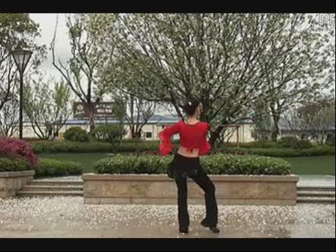 茉莉广场舞《印度美眉》排舞