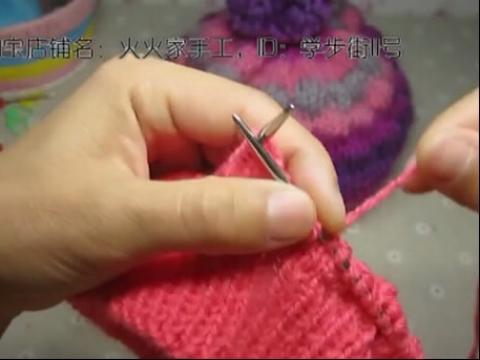 儿童帽子 宝宝帽子编织视频