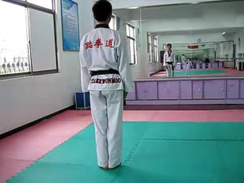 跆拳道太极三章教学 太极三章教学视频