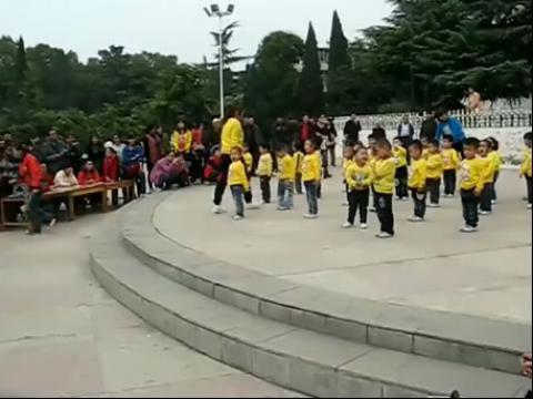 幼儿园广播体操比赛视频`