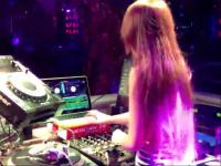 美女dj dj舞曲串烧 candice酒吧夜店打碟现场视频