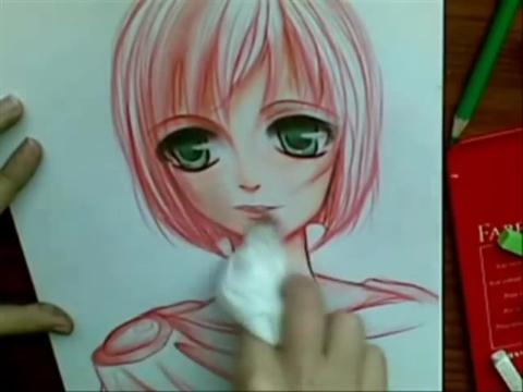 动漫人物画法素描简笔画设计大全07教你画漫画图片